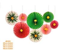 Parti Yıldızı - Tropikal Dekor Set 8 li