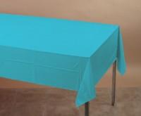 Parti Yıldızı - Turkuaz Mavi Masa Örtüsü ( Yerli Üretim )