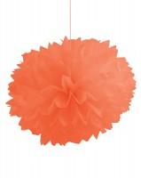 Parti Yıldızı - Turuncu 3 lü Ponpon Çiçek