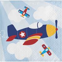 Parti Yıldızı - Uçaklar Partisi 16 lı Küçük Peçete
