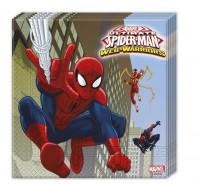 Parti Yıldızı - Ultimate Spiderman 20 li Peçete