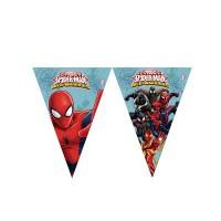 Parti Yıldızı - Ultimate Spiderman Bayrak Afiş