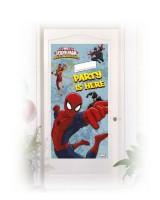Parti Yıldızı - Ultimate Spiderman Kapı Afişi