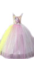 Parti Yıldızı - Elsa Kostüm Hayal Tül Pelerin
