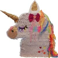 Parti Yıldızı - Unicorn Şekilli Büst Pinyata