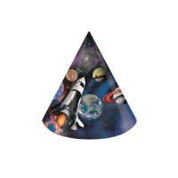 Parti Yıldızı - Uzay Partisi 8 li Şapka