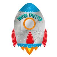 AMSCAN - Uzay ve Roket Partisi Davetiye Adet