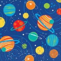 AMSCAN - Uzay ve Roket Partisi Küçük Peçete