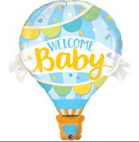 Parti Yıldızı - Welcome Baby Mavi Kapadokya 28