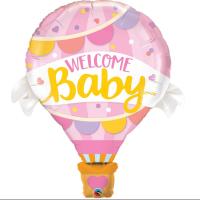 Parti Yıldızı - Welcome Baby Pembe Kapadokya 28