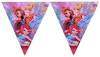 Parti Yıldızı - Winx Powerment Bayrak Afiş
