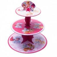 Parti Yıldızı - Winx Powerment Cupcake Standı