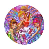 Parti Yıldızı - Winx Powerment Tabak