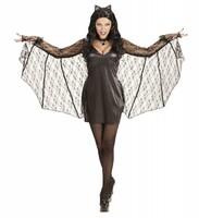 Parti Yıldızı - Yarasa Kadın Kostümü - L Beden