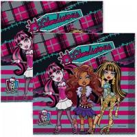 Parti Yıldızı - Yeni Monster High Peçete