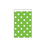 Parti Yıldızı - Yeşil Puanlı Karton Şeker Poşeti 20 Adet